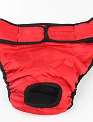 Einstellbare Pure Color Sanitär-Hose für Big Dogs (Farbe sortiert, L-XL)