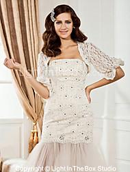 Party/Evening Lace Coats/Jackets Half-Sleeve Wedding  Wraps