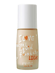 Populart-I LOVE Mineral Liquid Foundation (Light)