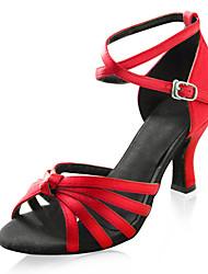 Sapato de Tira Feminino para Dança de Cetim