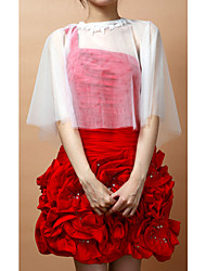 Capelets Sleeveless Tulle As Picture Shown Wedding / Party/Evening Lace