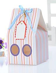 Simple Cake Box Stripe Design (Set of 12)