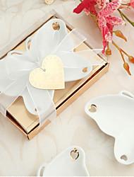 porcelaine souvenirs plat de bonbons papillon