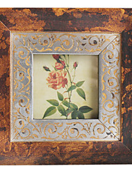 Antique Floral Picture Frame-Multi-size Available