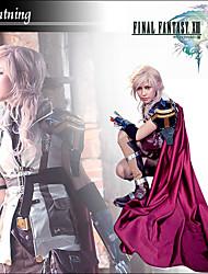Final Fantasy XIII Outfit Cosplay Iluminação