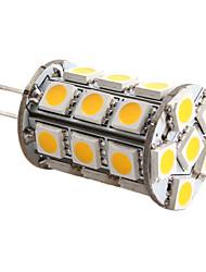 Ampoule Maïs Blanc Chaud G4 5 W 27 SMD 5050 450 LM 3000K K DC 12 V