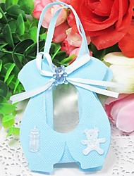 Lovely Favors Bags With Bear And Ribbon (Set of 12)