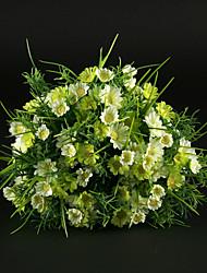 jolie bouquet de mariée en satin de mariée