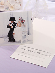 Personalize Wedding Response Card - Our Big Day (Set of 50)