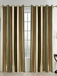 mediterráneo cortinas dos paneles dormitorio rayón franja cortinas