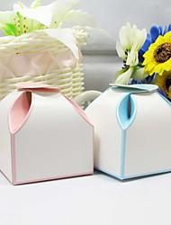 Eenvoudige Cubic Favor Box - Set van 12 (meer kleuren)