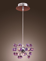 BEVERLEY - Lüster aus Kristall mit 6 Glühbirnen