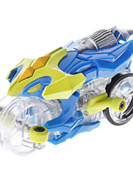 Track Running Mini Motorbike with LED Light (Random Color)