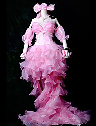 Inspiriert von Vocaloid Kagamine Len Video Spiel Cosplay Kostüme Cosplay Kostüme Patchwork Rosa Top