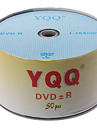 16x 4.7GB 120min DVD gravável disco + R DVD-R (50-pack)