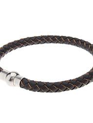Leder Weave Series Armband