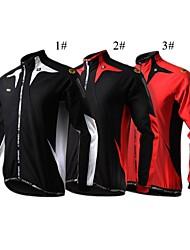 SPAKCT® Cycling Jacket Men's Long Sleeve Bike Breathable / Thermal / Warm / Wearable Jacket / Jersey / Tops 100% Polyester / Fleece