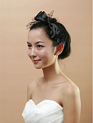 Women's Satin/Tulle Headpiece - Wedding/Special Occasion Headbands