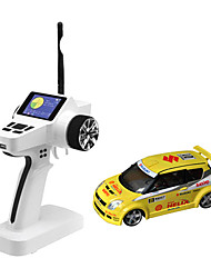 Mini-Z Firelap 1/28 4WD RC SUZUKI SWIFT com 2.4G transmissor tela colorida