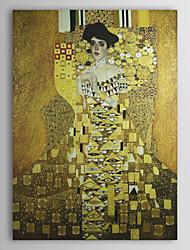 Г-жа Адель Блох-Бауэр, 1907 Густав Климт Качество музей с золотой фольгой