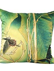 borboleta de seda fronha decorativo