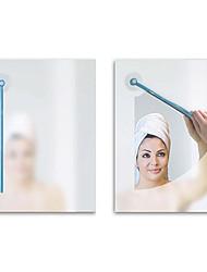 arranhão espelho do banheiro névoa (cor aleatória)