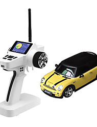 Mini-Z Firelap 1/28 4WD RC Mini cooper with 2.4G color screen Transmitter