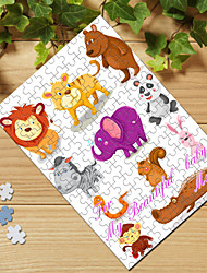 Personalized Jigsaw Puzzle - Lovely Animals