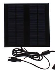 18V 2W cargador solar portátil para la batería del vehículo, y más