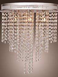 SCUNTHORPE - Lustre Cristal - 6 slots à ampoule