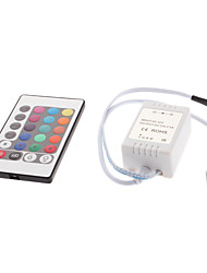 24-Button Remote Controller for RGB LED Strip Lights (12V)