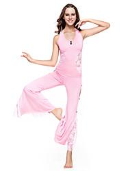 dancewear viscosa con traje danza del vientre de encaje para las damas más colores