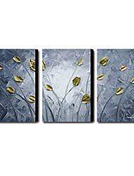 Hand Painted Oil Painting Abstract Set of 3 1211-AB0233