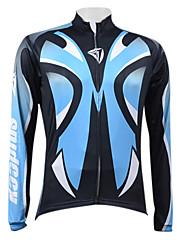 Kooplus Blue Face Series Men's Cycling Long Sleeve Jersey
