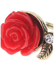 Z&X®  Vintage Style Red Rose Ring