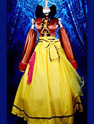 traje de cosplay inspirado en Macross Frontier Sayonara no Tsubasa Ranka Lee vestido newtype (piso-longitud de ver.)