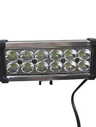 36W 12 Led Light Bar