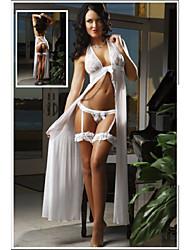 Damen Sexy Long Nachtwäsche (Fit Größe: M-XL)