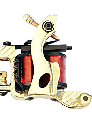 Professional Brass Tattoo Machine Gun for Shader