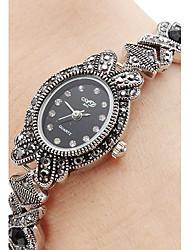 Women's Alloy Quartz Analog Bracelet Watch (Black) Cool Watches Unique Watches Fashion Watch