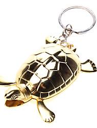 Oro Gas Turtle encendedor con Llavero