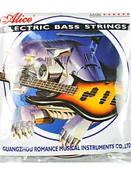 Alice - (A606 (6)-M) Acier noyau Electric Bass Strings (032-130)