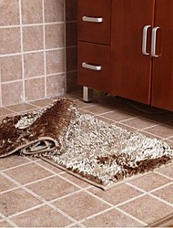 ELAINE Fibre Water Absorbing Antiskid Rug (Set of 2) (50*80cm,Khaki)