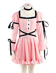 cosplay traje inspirado en la agenda futura minene vestido rosa lolita uryu