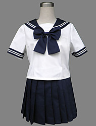 Real Jazz azul de lã Sailor Uniforme Escolar