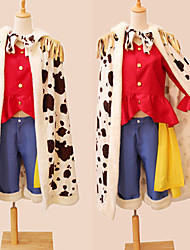 deux ans après ver. Monkey D. luffy cosplay costume