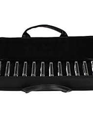 EASSTTOP - (T10-12) 12-Blues Harp Pack with Case