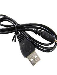 3,5 mm macho a USB AM Cable (1 m)
