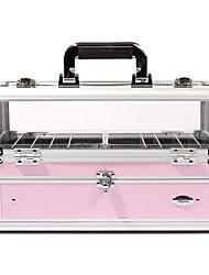 1pcs color seleccionable Organizador PVC Cosmetic Box (BB-155C, 2.550 g)