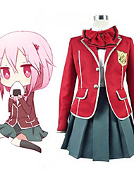 Cosplay Costume Inspired by Guilty Crown Tennouzu High School Girls' School Uniform